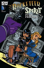 Idw publishing rocketeer spirit pulp friction issue 4