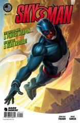 Skyman 1 cover dark horse comics fialkov garcia