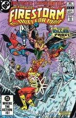 The Fury of Firestorm, The Nuclear Man #4