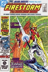 The Fury of Firestorm, The Nuclear Man #24