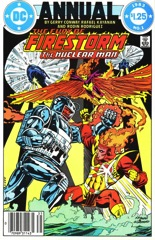 The Fury of Firestorm, The Nuclear Man Annual #1