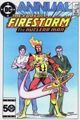 The Fury of Firestorm, The Nuclear Man Annual #3
