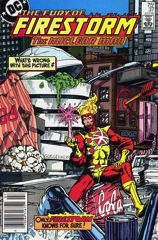 The Fury of Firestorm, The Nuclear Man #37