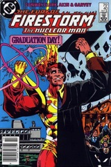 The Fury of Firestorm, The Nuclear Man #40