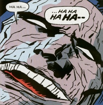 Not even Darkseid can keep a straight face during WORLD'S FUNNEST; art by David Mazzucchelli!