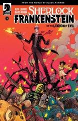 Sherlock Frankenstein and the Legion of Evil #1