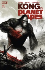 Kong on the Planet of the Apes #6