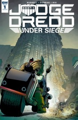 Judge Dredd: Under Siege #1